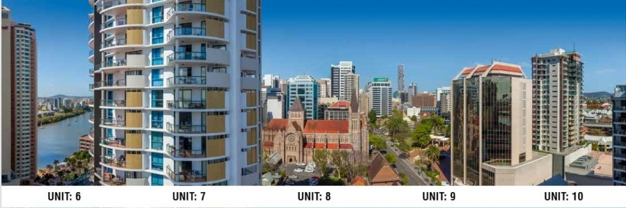 (above is view from Level 17 for Apartments 6-10)