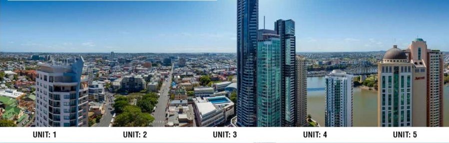 (above views from Level 33 apartments 1-5)