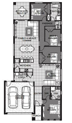 henderson floor plan